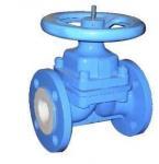Buy cheap liner PTFE/FEP valve,diapghragm valve,bolted bonnet design,cast steel, HYDROFLUORIC ACID product