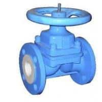 Quality liner PTFE/FEP valve,diapghragm valve,bolted bonnet design,cast steel, HYDROFLUORIC ACID for sale