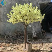 Buy cheap Yellow Fake Sakura Tree For Restaurant Decoration , Artificial Cherry Blossom Tree product