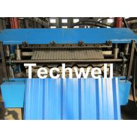 Buy cheap Manual / Automatical Type Double Roof Roll Forming Machine For Metal Roofing, Sheet Roof product