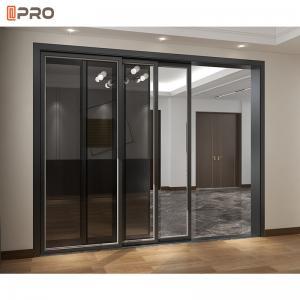 Buy cheap Interior Aluminium Sliding Glass Doors With Screen product