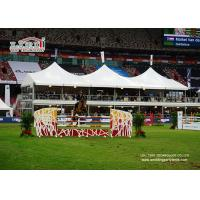 Buy cheap Double Decker High Peak Tents With Glass Walls For Horse Competition product