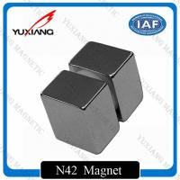 Buy cheap Ni-Cu-Ni Neodymium Block Magnets 50x50x50mm High Coercive Force Over 35KOe product