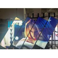 Buy cheap High Definition Indoor Video Poster LED Display Lightweight Aluminum Front Service product