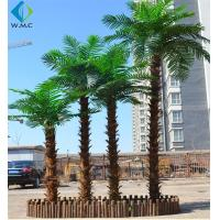 Buy cheap Customizable Size Fake Coconut Tree , Large Faux Palm Tree For Hotel Decoration product