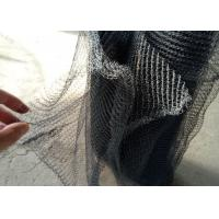 Buy cheap Pure Nickel Ni Knitted Wire Mesh Gas Liquid Filter Wide Customized Demister Pad product