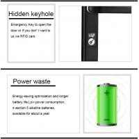 Buy cheap Remote Control Passcode Lock Support Code Bluetooth APP Card Access Door Lock product