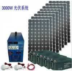 Sistema eléctrico solar hecho salir DC/AC solar del sistema eléctrico 3000W