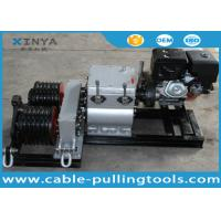 Buy cheap 50KN Double Drum Fast Speed Winch Cable Pulling and Laying with Gasoline Engine product