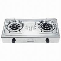 Buy cheap Table Stove, 2 burners stainless steel gas stove from wholesalers