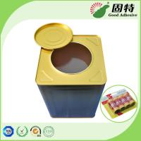Buy cheap Semi Transparent Hot Melt Glue Rubber Like Solid , Yellow Solid  Fly Glue Paper product