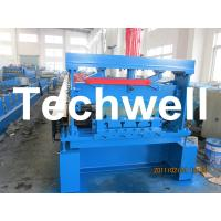Buy cheap 10 - 12Mpa Hydraulic Pressure Metal Deck Roll Forming Machine for 0.8 - 1.2 mm Thickness product