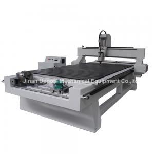 Quality Máquina de gravura de madeira do CNC de 4 linhas centrais com a linha central giratória fixada na X-linha central for sale