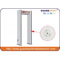 Buy cheap LED Display Walk Thru Metal Detectors With Camera , Walk Through X Ray Machine product