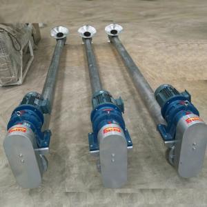 304  Stainless steel Horizontal screw feeder stainless steel screw conveyor hopper auger conveyor