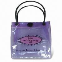 Buy cheap Plastic Tote Bag with Customized Designs or Logos and 0.2mm Thickness product
