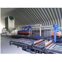 Buy cheap 6 Layer Fiber Glass Mesh Sanding Mgo Board Production Line Producing Wall Panels product