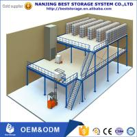 China China supplier Nanjing factory multi layer high quality mezzanine floor platform with ISO9001 and CE certificate on sale