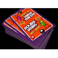 Buy cheap Waterproof PVC Plastic Deck Cards Outdoor Game Type with Tuck - Box product