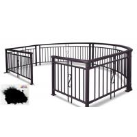 Buy cheap SGS Garden Fence All Coat Powder Coating Good Delay Impact Performance product