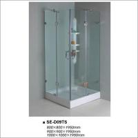 Buy cheap Bathroom Clear Glass Shower Enclosures Four Door Free Standing With Square Tray product