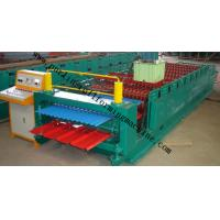 Buy cheap Corrugated Double Layer Roll Forming Machine , Wave Galvanized Roof Sheet Cold Roll Former product