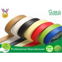 Buy cheap Decorative Low Tack Masking Tape , Blue Painters Masking Tape Rubber Adhesive product