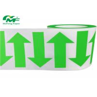 China White Glassine Liner Adhesive Sticker Roll Waterproof Transparent Printing Sticker Label on sale