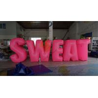 Buy cheap Sweat Characters Inflatable Product Replicas Silk Screen Printing Excellent Design product