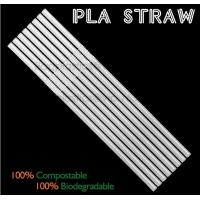 Buy cheap Eco-friendly straw for drinking use, 100% compostable straw, PLA folding drinking straw product