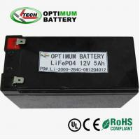 Buy cheap Lifepo4 12v 10ah  Lithium-Ion Battery Packs For Light Emitting Diode product