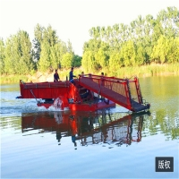 Buy cheap Storage Tipper Aquatic Weed Harvester 2m Mowing Width product