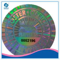 Buy cheap Security 2d 3d anti-fake hologram sticker, leave VOID hologram sticker label from wholesalers