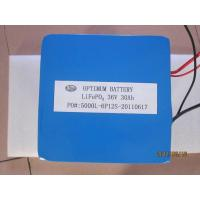 Buy cheap Environmental Lifepo4 Electric Vehicles Battery For Motorcycle 36v 30ah product