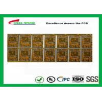 Buy cheap Yellow Multilayer PCB 4 Layer Bluetooth Printed Circuit Board With BGA And Half Holes product