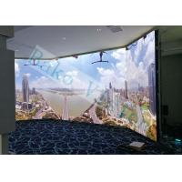 Buy cheap Wide Viewing Angle UHD LED Display , 1R1G1B Full Color Video Wall For TV Studio product