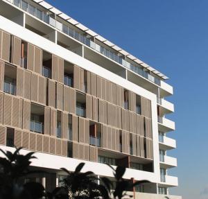 Buy cheap Exterior 300mm Aluminium Sun Shade Louvres Blades Wall Cladding product
