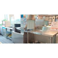 Buy cheap Automatic Under Bench Commercial Dishwasher , Commercial Bar Dishwasher product