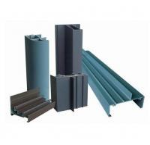 Buy cheap Профили штранг-прессования алюминиевого окна древесины OEM 6005 покрынные зерном для дверей и Windows гостиницы product