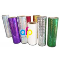 Buy cheap Holographic Thermal Lamination Film Laser Holographic Film for Gift Wrapping product