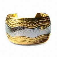 Buy cheap Fashionable Bangle, Nickel-free, OEM Orders are Welcome, Customized Designs are Accepted product