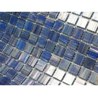 Blue mixed swimming pool tile for sale