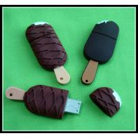Quality promotional ice cream shape full capacity with samsung chip PVC Usb Flash Drive for sale