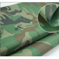 Buy cheap PU Coated Camouflage Lightweight Tent Fabric For Military Defense And Aviation product