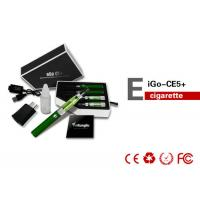 Ce5 Green EGO E Cig Matched With 510 / eGO Batteries , 900mAh 14mm 1.8ohm Atomizer