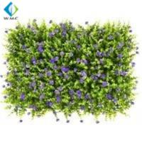 Buy cheap UV Resistant Artificial Grass Wall , PE Material Artificial Fence Roll product
