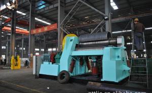 Buy cheap 4 Roll Plate Rolling Machine Automatic Hydraulic Shearing Machine W12SNC 70X3000 product