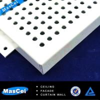Buy cheap Round hole Perforated iron and Reflective Ceiling Tile product