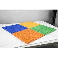 Buy cheap EU nstandard PP material EN14877 sunflower pattern Safety Sport Floor for from wholesalers