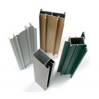 Quality Chemical / Mechanical Polished Aluminum Window Extrusion Profiles For Architectu for sale